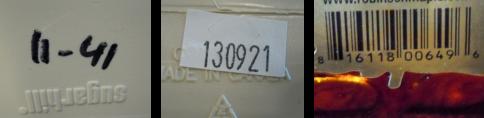 Bar codes 3