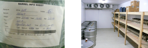 Bulk label and Cold Storage