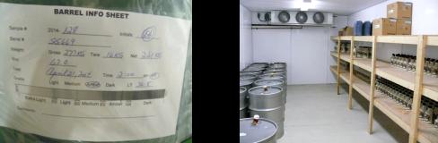 Bulk label and Cold Storage