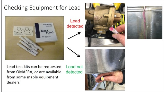 Check for Lead